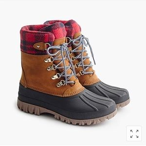 J Crew Perfect Winter Boot- Worn Once